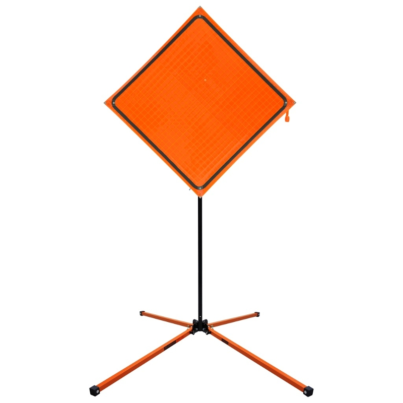 Sign Stand – Temporary Traffic Control #SZ 412- Springless 23 lbs.