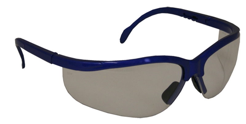 FORESTER-1 Shatterproof Safety Glasses, Smoke Lens