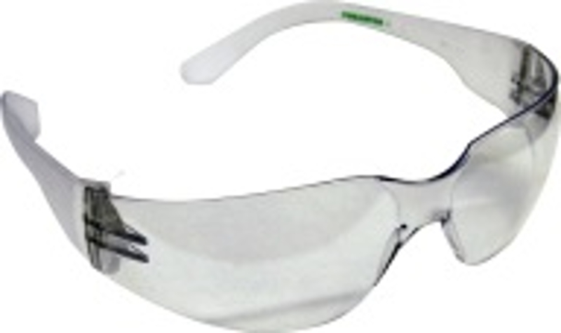 FORESTER-4 Wraparound Safety Glasses, Clean Lens
