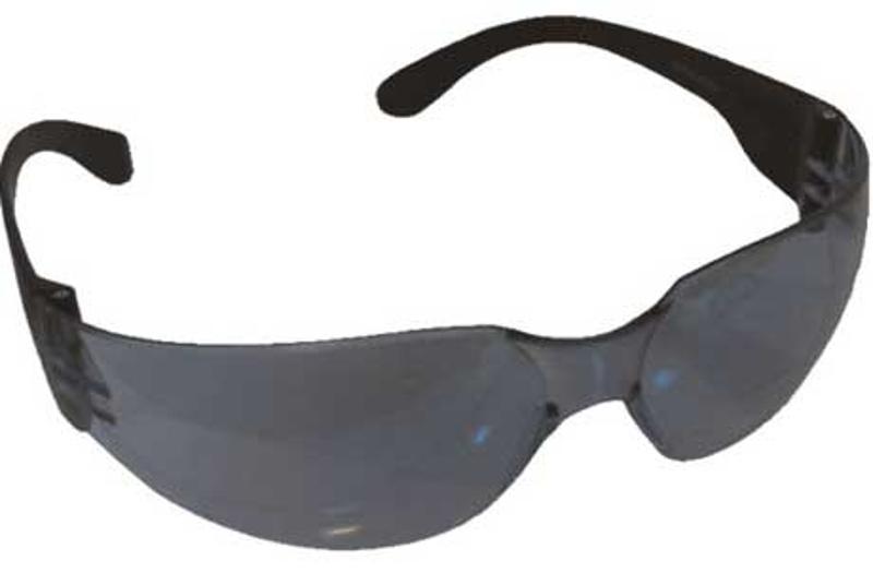 FORESTER-6 Wraparound Safety Glasses, Smoke Lens