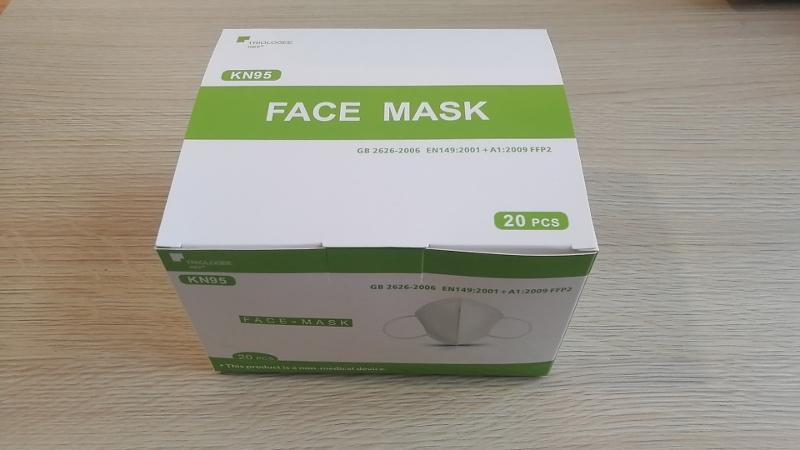KN95 Packaging – 20 pcs. Per Box