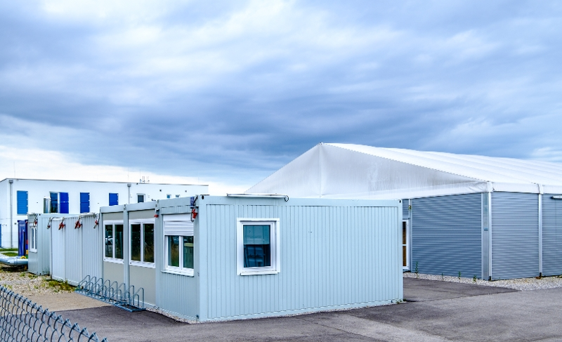 Mobile Offices and Sleeping Quarters