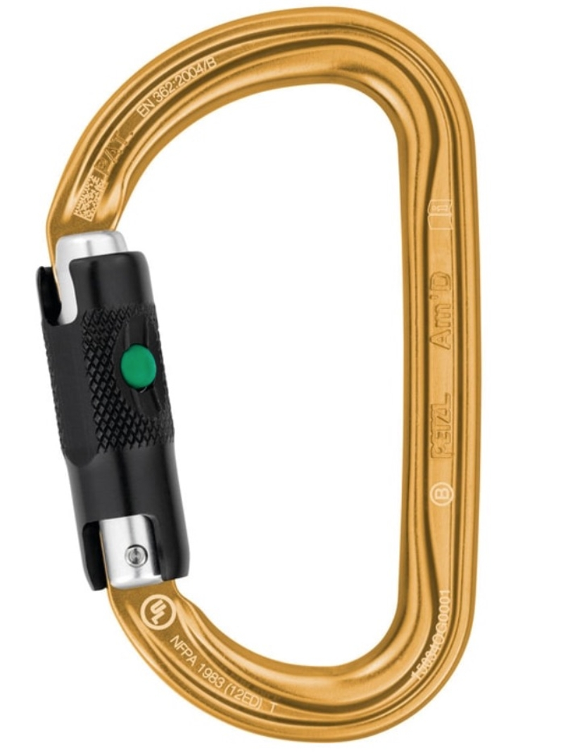 AM'D Ball Lock Carabiner