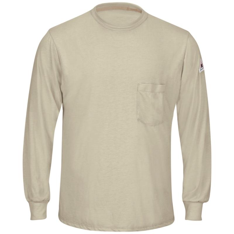 Bulwark Men's Long Sleeve FR T-Shirt - CAT 1