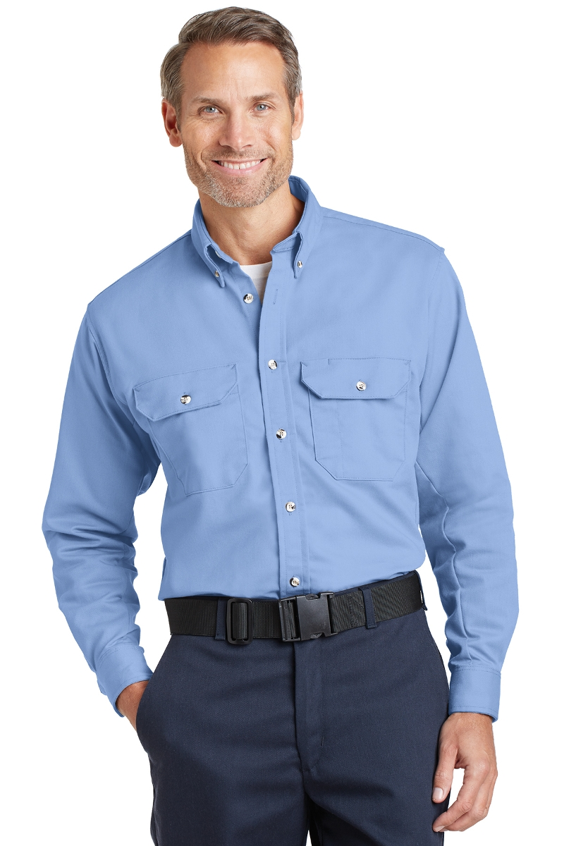 Bulwark Men's Flame Resistant Dress Shirt SLU2