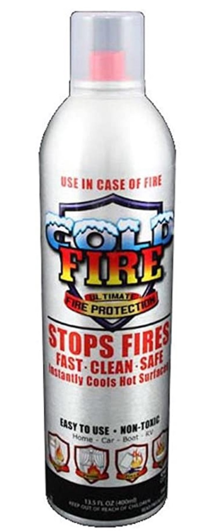 Cold Fire 13 oz. Fire Extinguisher