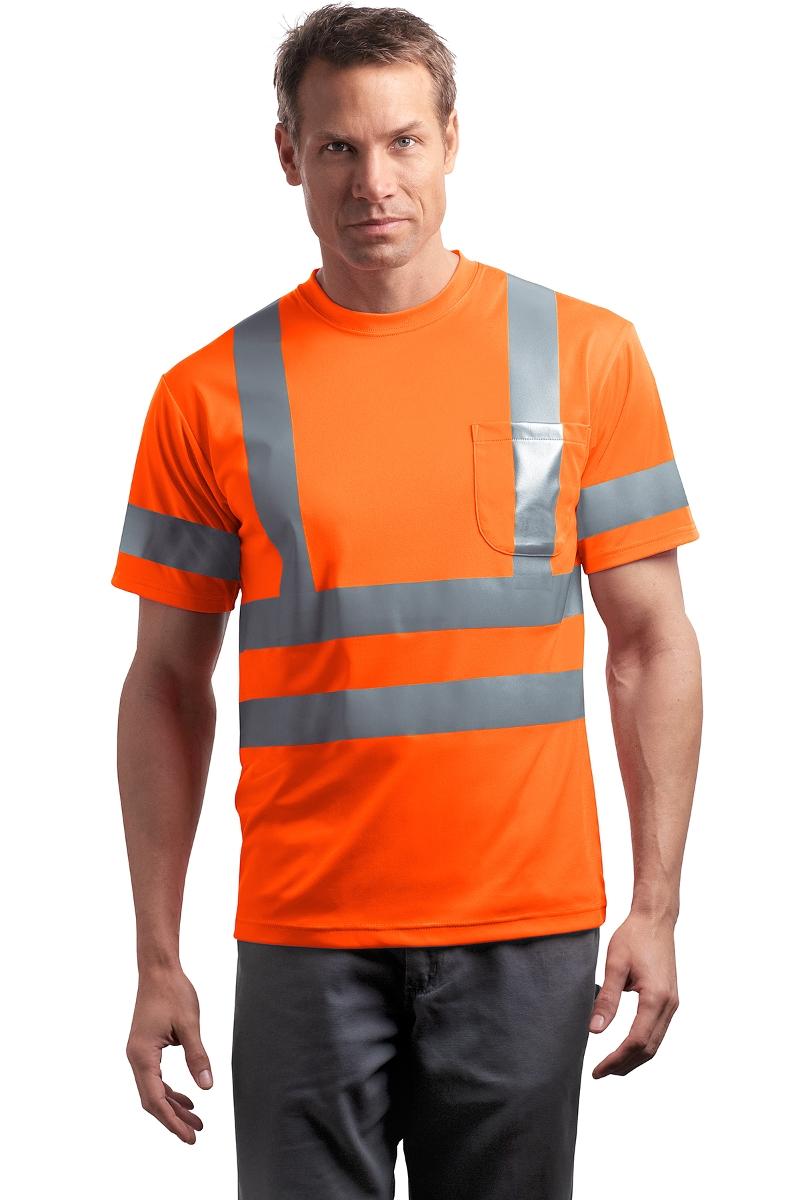 CornerStone Hi-Vis Class 3 T-Shirt CS408
