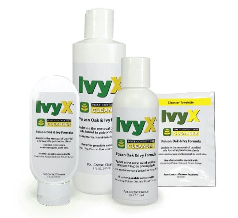 Cortex IvyX Post-Contact Skin Cleanser