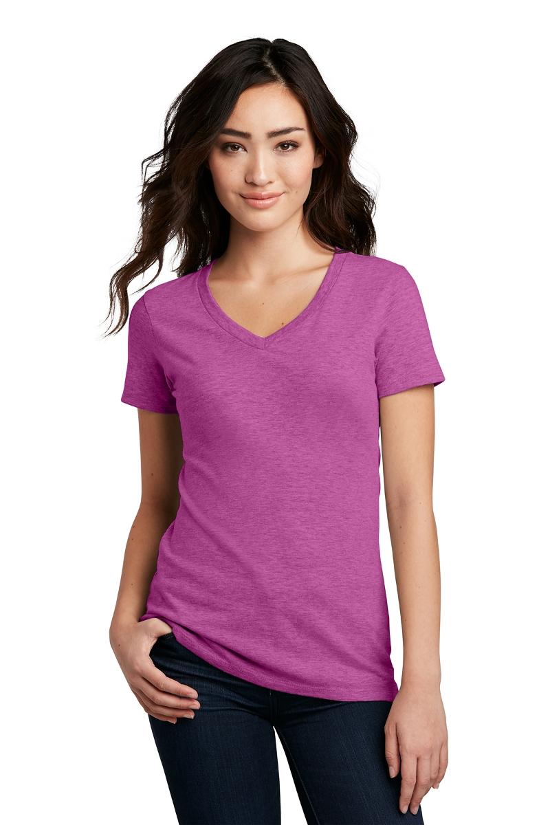 District Women's V-Neck T-Shirt DM1190L