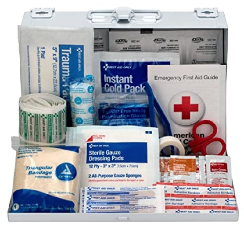 Vehicle First Aid Kit - 178 Piece