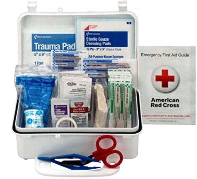Vehicle First Aid Kit - 57 Piece