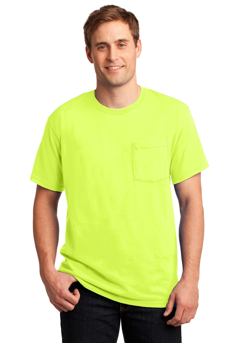 JERZEES T-Shirt With Pocket 29MP