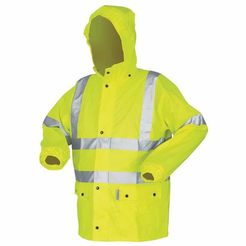 MCR Hi-Vis Class 3 Rain Jacket