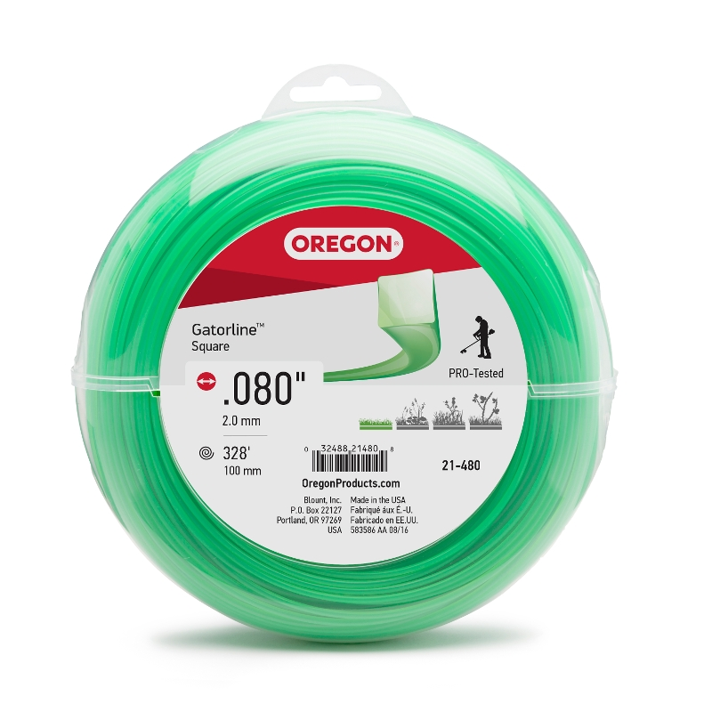 Oregon Gatorline Square Trimmer Line
