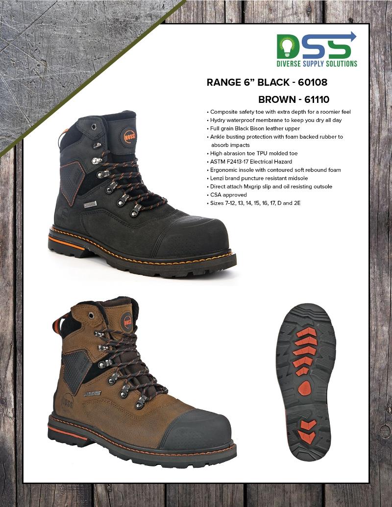 HOSS Boots - Range 6