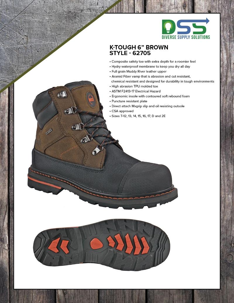 HOSS Boots - K'Tough 6