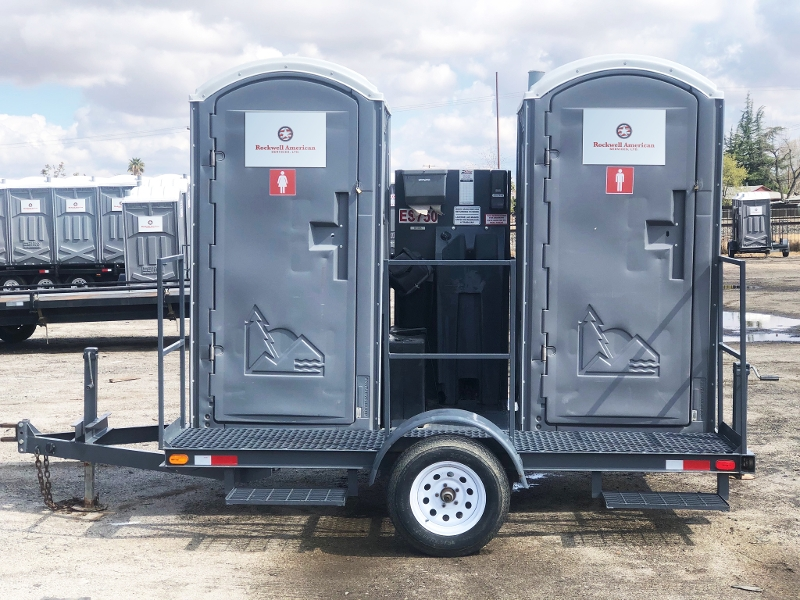 Trailer Mounted Latrines and Sinks