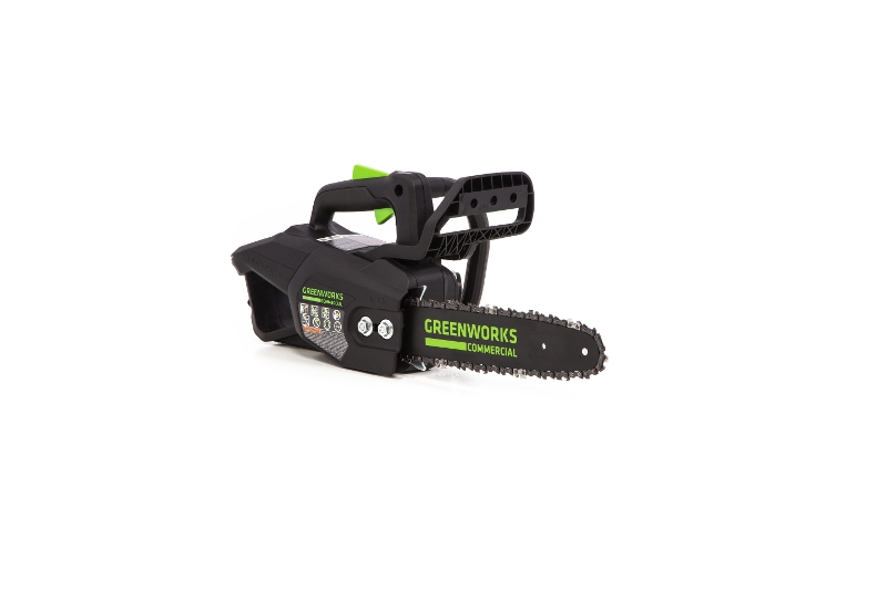 Greenworks 48TH12 Top Handle Chainsaw (Angle / Front View)