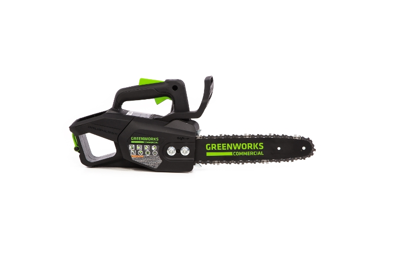 Greenworks 48TH12 Top Handle Chainsaw (Side View)