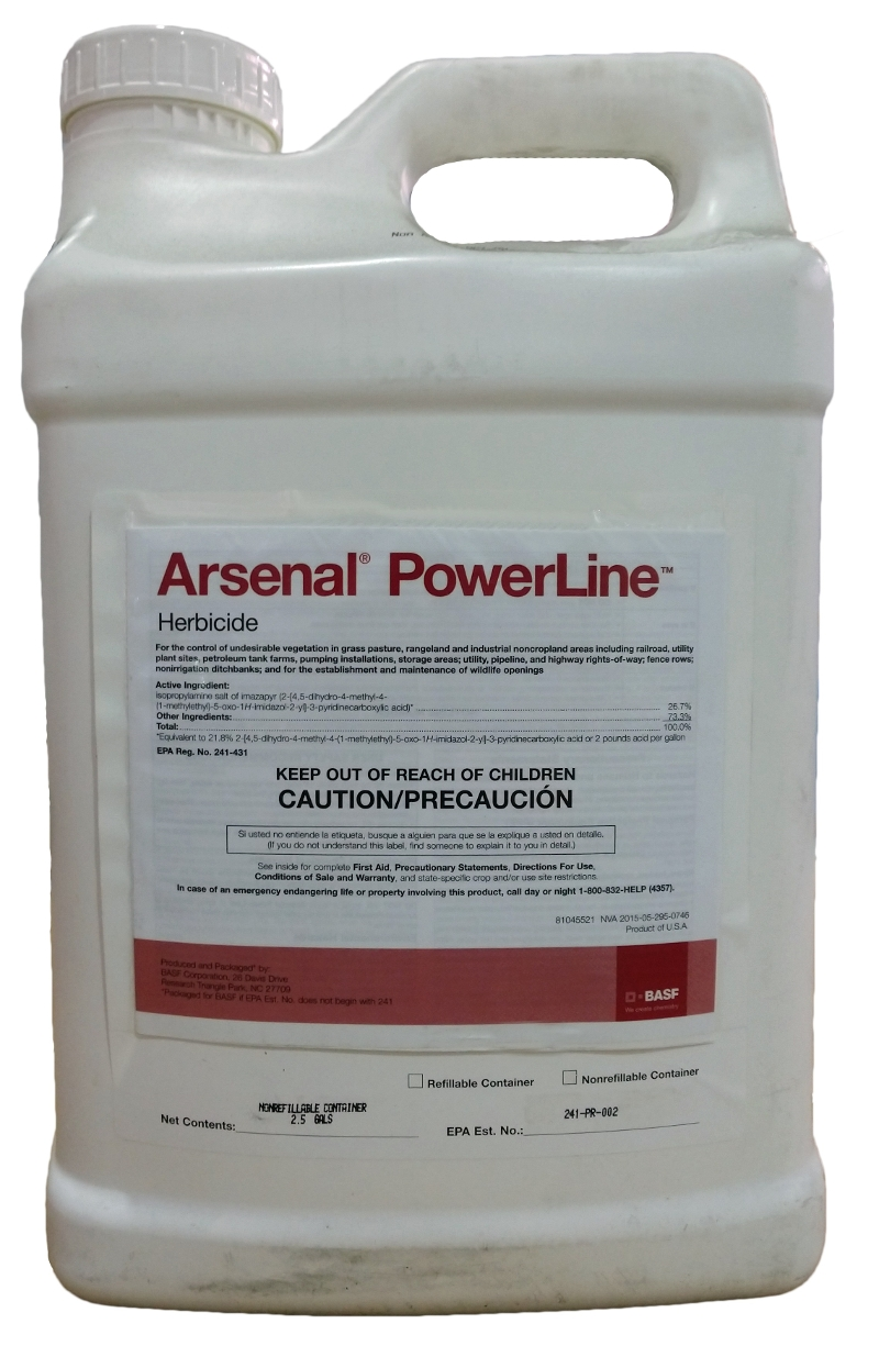 BASF Arsenal PowerLine Herbicide - 2.5 Gal
