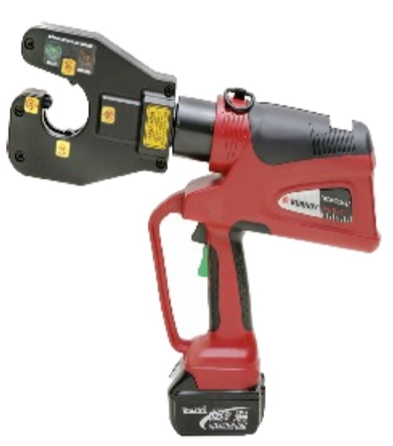Battery Powered Dieless Crimper 4-Point