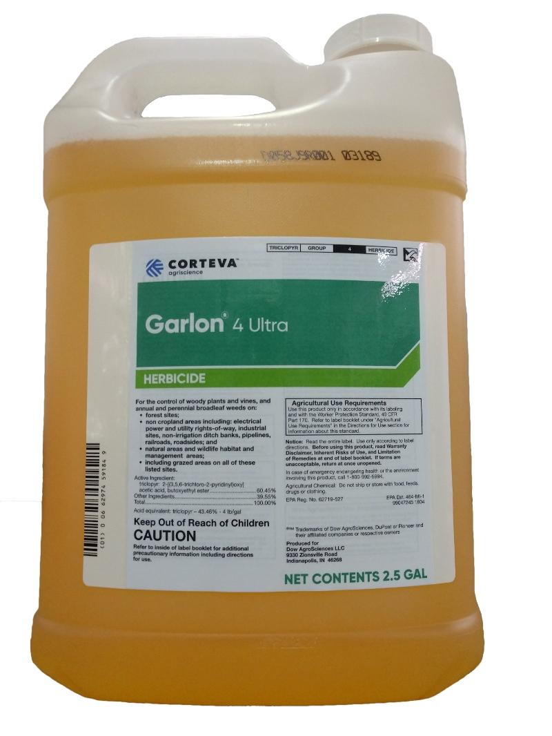 Corteva Garlon 4 Ultra Herbicide – 2.5 Gal