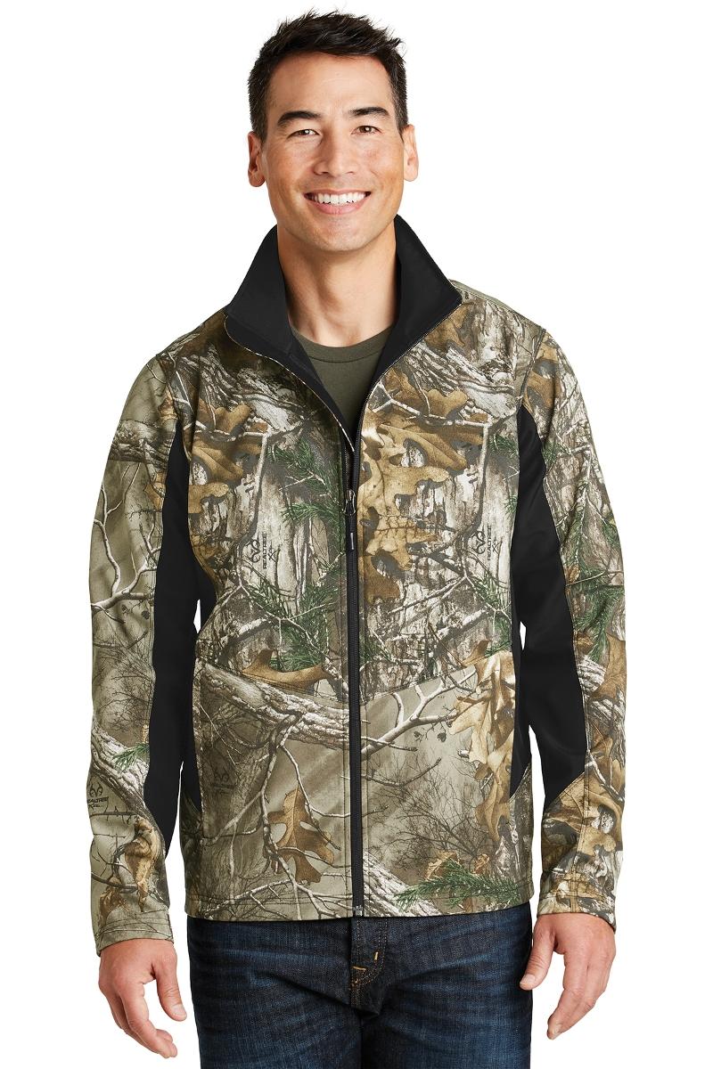 Port Authority Camouflage Soft Shell Jacket J318C