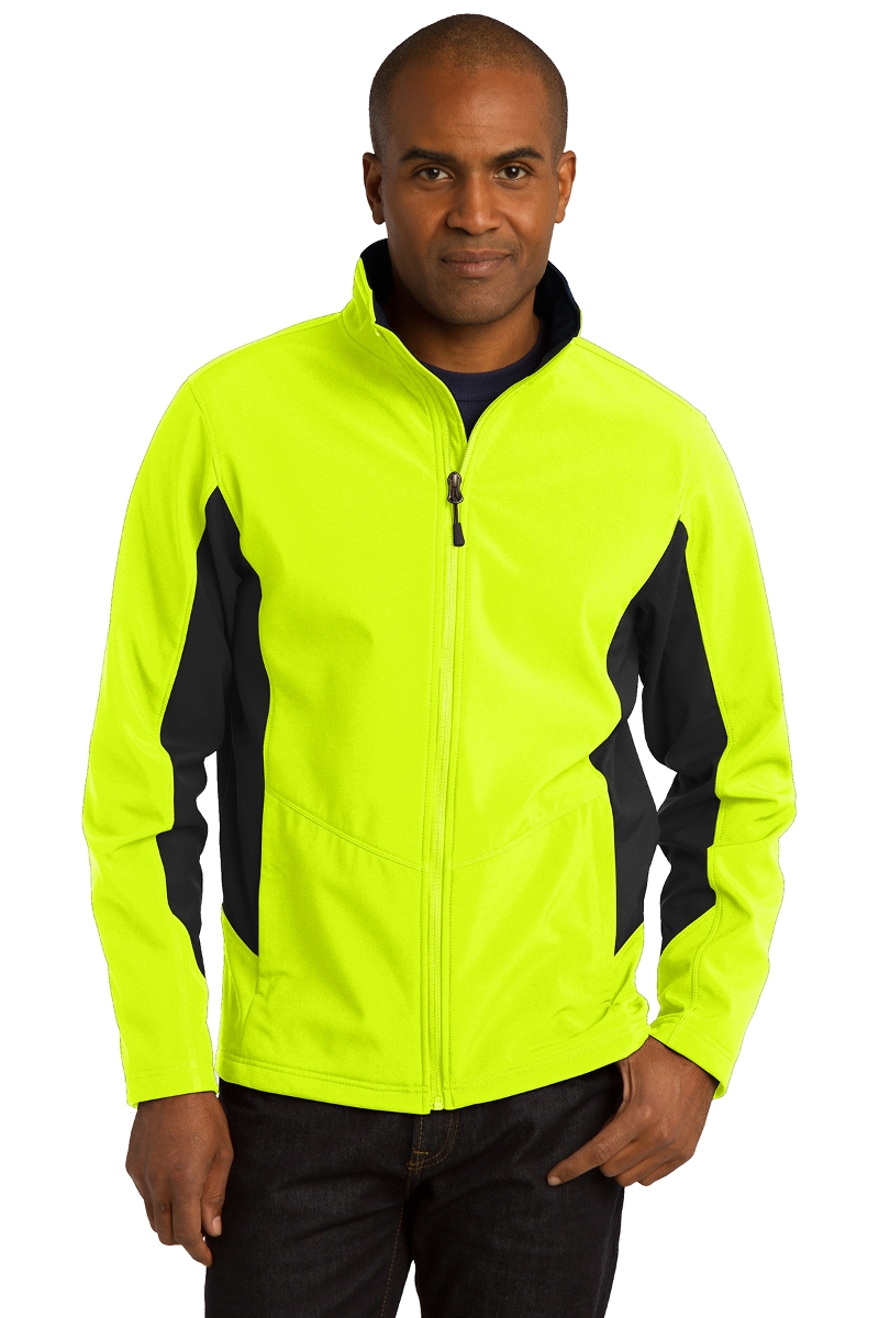 Port Authority Colorblock Soft Shell Jacket J318