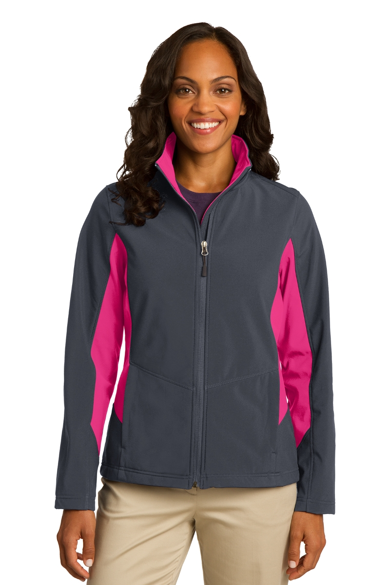Port Authority Ladies Soft Shell Colorblock Jacket L318