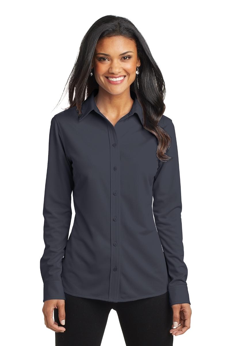 Port Authority Ladies Knit Dress Shirt L570