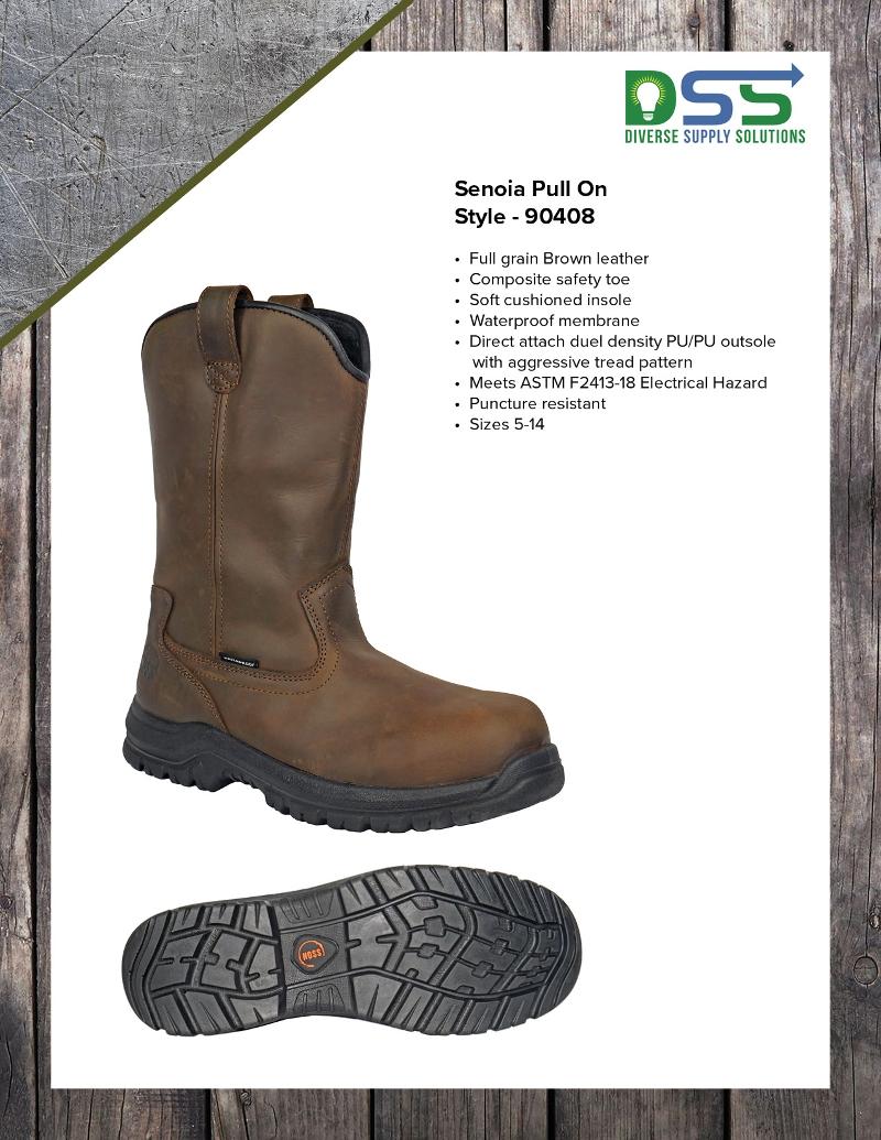 HOSS Boots - Senoia Pull-on Style